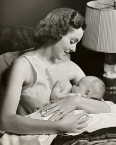 Breastfeeding in the 1950s